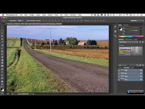 #04 How to Synchronize Color Settings - Adobe Photoshop CC Tutorials