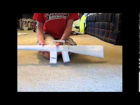 Paper M16 review + Sneak peak of my foamboard prodjects