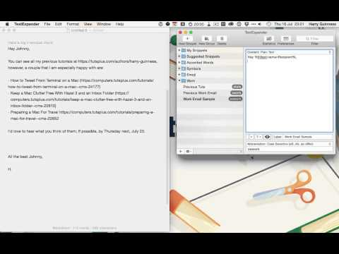 TextExpander II   Fill Ins and Macros