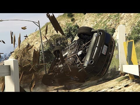 GTA 5 INSANE CAR CRASHES COMPILATION!!!
