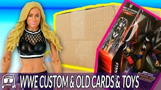 WWE Custom from eBay, Old School Cards & EXCLUSIVE TOYS! BOXPOCALYPSE: SWAGATHON Haul Unboxing!!