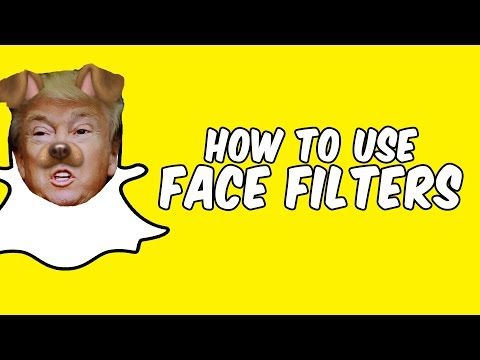 How to use Snapchat face filters! (Snapchat Lenses: Face Swap, Dog Face, Rainbow, Big Eyes)
