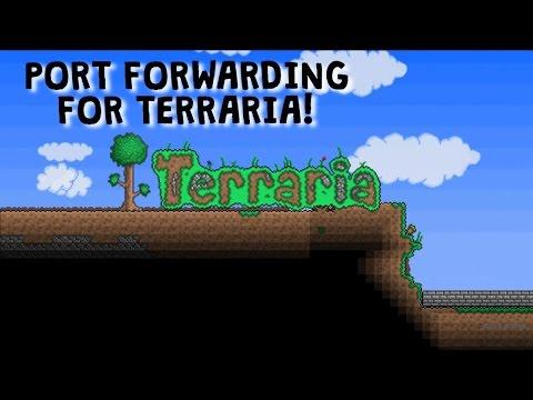 Terraria - How to make a server! (quick) (portforward)