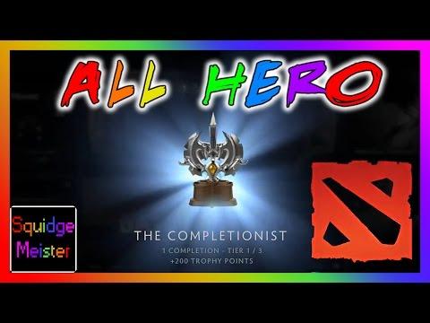 Dota 2 - ALL HERO CHALLENGE COMPLETE - INVOKER