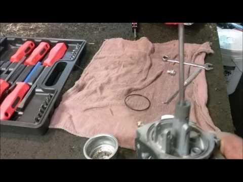 Cleaning a Champion generator carburetor