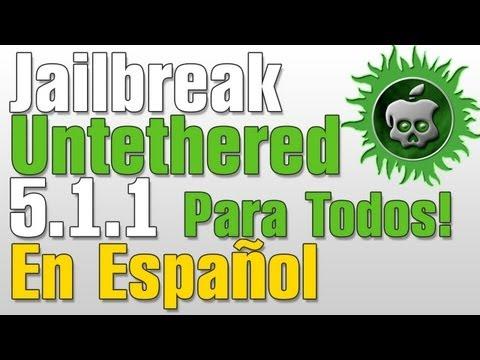Jailbreak 5.1.1 Untethered En Español iPhone, iPod Touch, iPad, Apple TV Absinthe 2.0.4