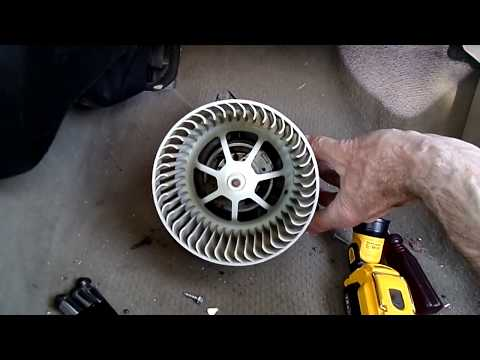 Ford Focus Blower Motor Removal