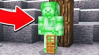 HOW TO LIVE INSIDE GREEN STEVE IN MINECRAFT!