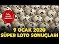 Sper Loto ekili Sonular 9 Ocak 2020