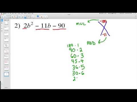 Factoring Complex Polynomials 2