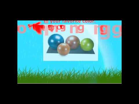 Choose the Right Exercise Ball