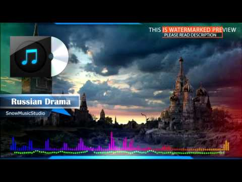 Dramatic ethnic orchestral music track - Russian Drama (royalty-free)