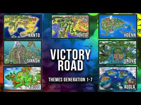 All Pokémon Victory Road Themes [GEN 1-7]