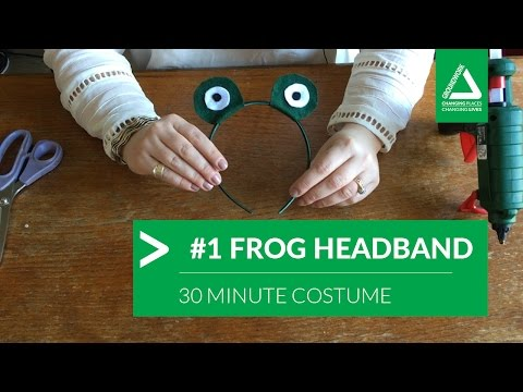 30 Minute Costume Challenge: #1 Frog