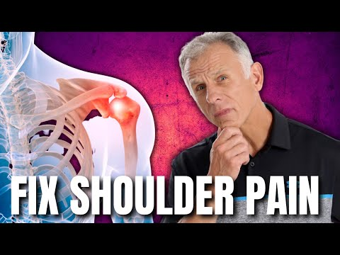 Shoulder Pain: Fix by Hanging From a Bar-Impingement, Cuff Tear, Etc.