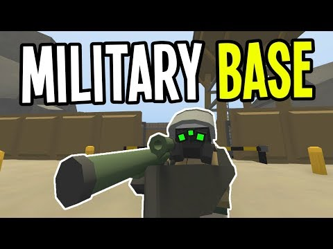 Unturned - RAIDING the MILITARY BASE in DEAD ZONE!! - Greece Map Modded Survival - Ep. 14