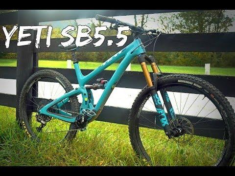 2018 Yeti SB5.5c Test Ride & Review
