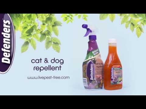 Cat and Dog Repellent (STV619 & STV625) from Defenders