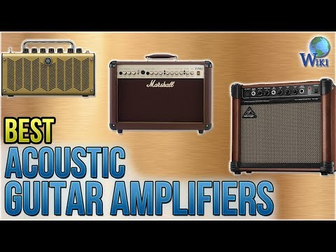 8 Best Acoustic Guitar Amplifiers 2018