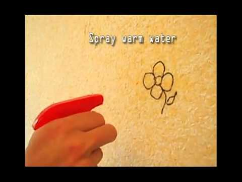 Remove ink from  liquid wallpaper wallgrace uk