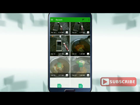 How to convert photo Android phone in Mb to Kb size and Kb to Mb just one click