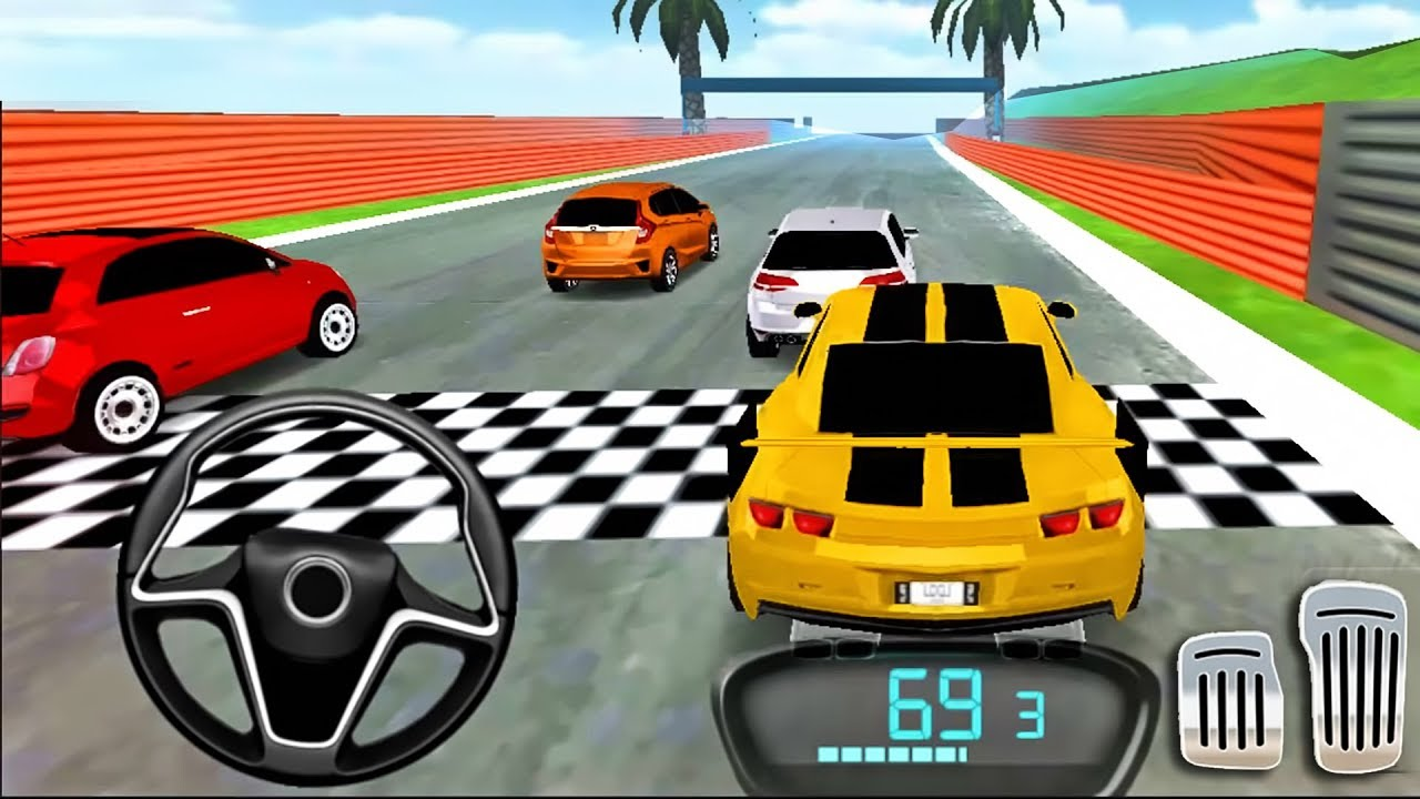 Download Drive For Speed: Simulator 2018 Car Driving | Unlocked: Sport Car Yellow, Red Car - Android GamePlay MP3 Gratis