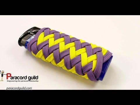 Paracord lighter wrap- Norton knot