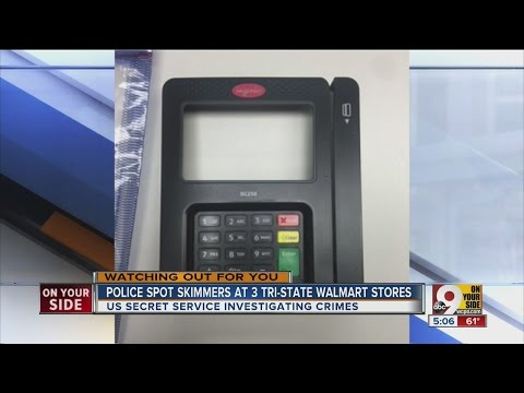 Police spot skimmers are three Tri-State Wal-Mart stores