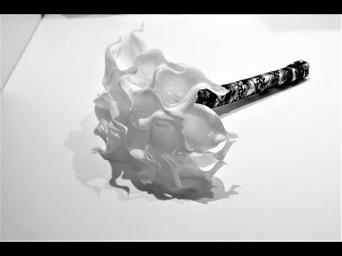 DIY wedding decoration tutorial | How to make a callas lily bride bouquet | Sugarella Sweets Party