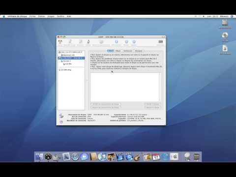 32 • Créer une image disque à partir d'un CD/DVD • Mac OS X Tiger (tutoriel vidéo)