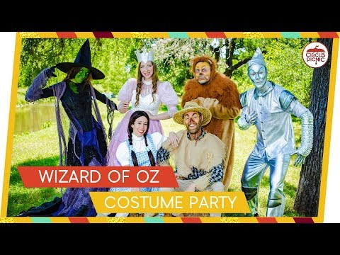 Wizard of Oz Inspired Themed Costume Party! INCREDIBLE Costumes!!!