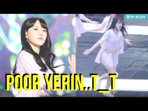 Fancam Shows GFRIEND Yerin Suffering On Stage With Appendicitis