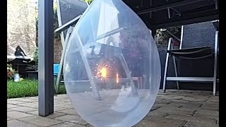 How to Set a Fire inside Balloon!