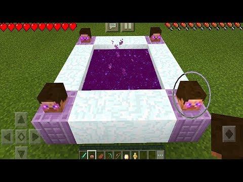Entering the Dream Portal in Minecraft Pocket Edition (NO ADDONS)