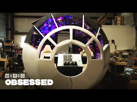 Full-Size Millennium Falcon Cockpit Built In A Garage | Obsessed | WIRED