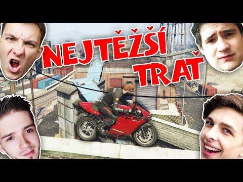 NEJTĚŽŠÍ MOTO PARKOUR! w/ Ment, Bax, Wedry | GTA Online | HouseBox