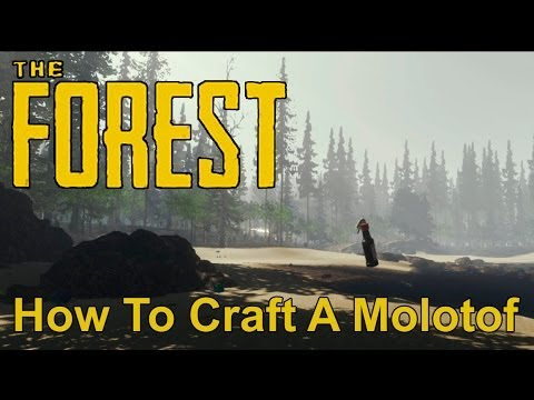 The Forest - How To Craft Molotof
