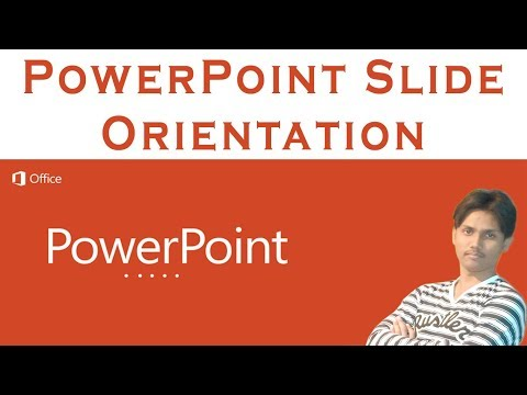 How To Change Landscape To Portrait In Microsoft PowerPoint Tutorial In Urdu or Hindi