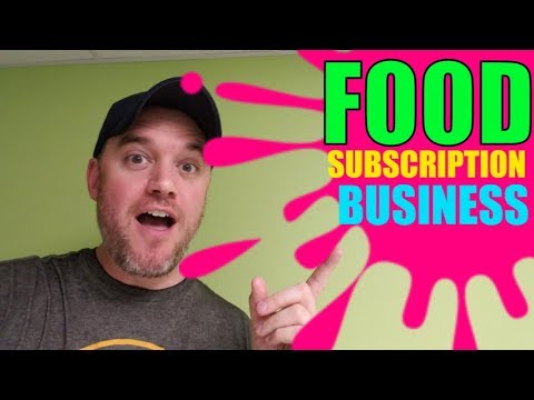 How to start a Subscription Business Selling Food Candy Cookies Cakes and More