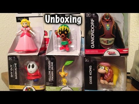 World of Nintendo Figurines Unboxing
