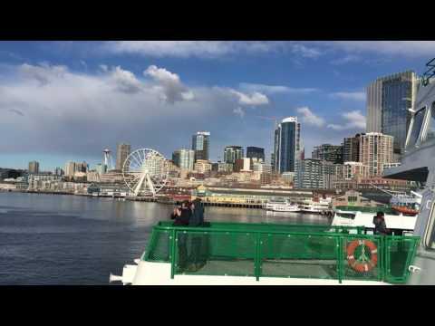 Onboard ferry Seattle to Bremerton