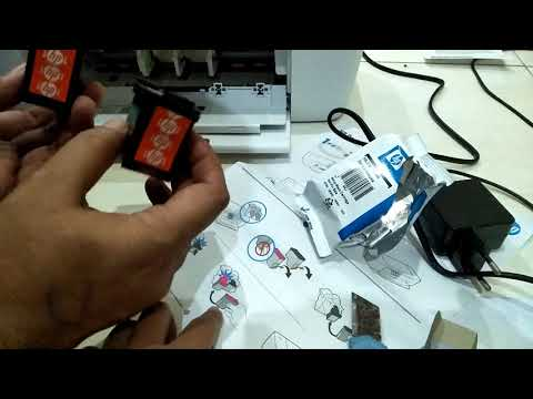 Cara mudah memasang Cartridge Printer HP 1110/1115 Series