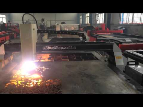 cutting the metal door  plasma