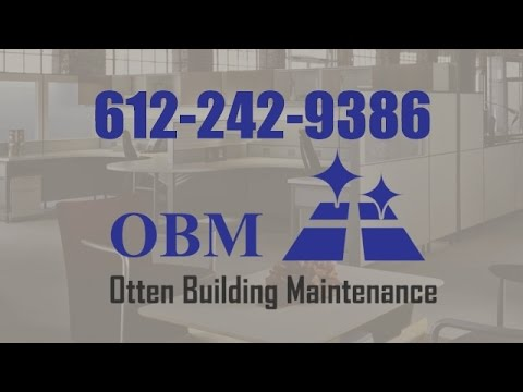 OBM Commercial Office Cleaning & Building Maintenance Maple Grove MN