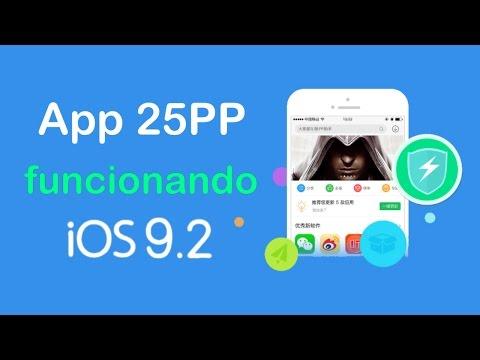 App de 25PP funcionando en iOS 9.2    Apps GRATIS    2016