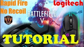 How to get no recoil in any game with a Logitech mouse   Music Jinni