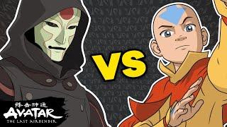Aang vs. Amon: Avatar Bender Battles #1 | NickRewind