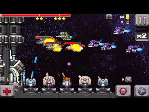 Tower Defense Retro Game - War in Space for iPad & iPhone