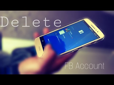 How to Delete Facebook Account on Android (2017)