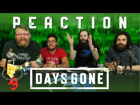 Days Gone | E3 2017 Trailer | PS4 REACTION!!